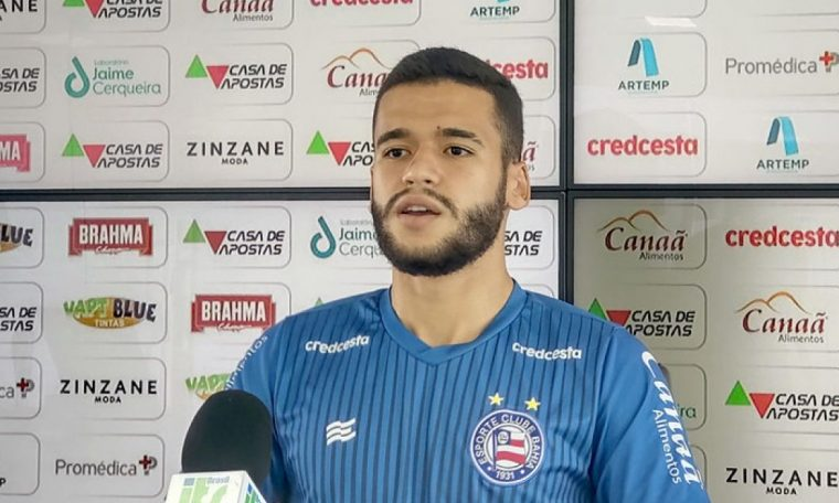 Bahia Notorious / Khel / EC Bahia / Patrick says he is ready to replace Gregor in Bahia: 'I worked for it'