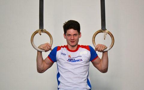 Diogo Soares, ginasta da Academia Pira Olímpica