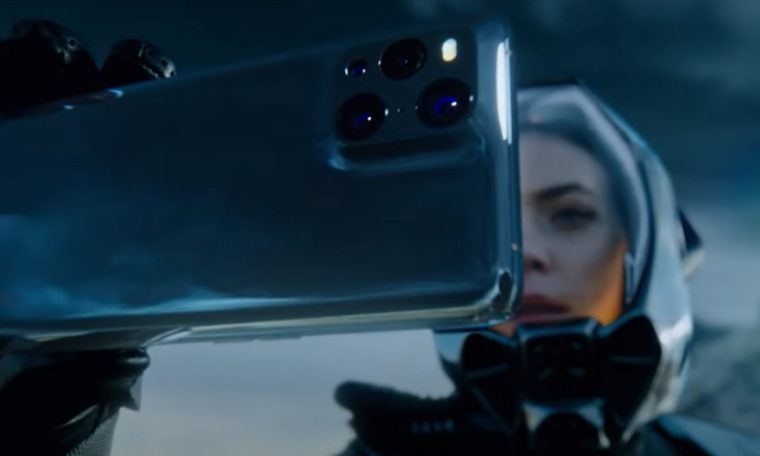 Oppo Find X3 Pro Sci-Fi Promotional Video Star Detailing Powerful Smartphone