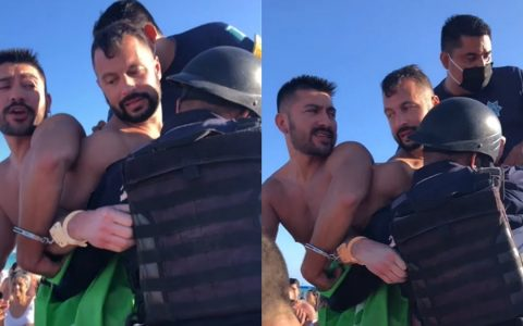Gay men arrested for kissing on the beach in Mexico |  Bizarre