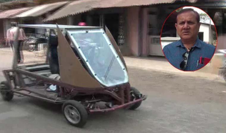 Solar Powered Car: అద్భుతం.. సోలార్ కారును తయారు చేసిన రైతు.. ఒక్కసారి చార్జ్ చేస్తే 300 కిలోమీటర్లు..