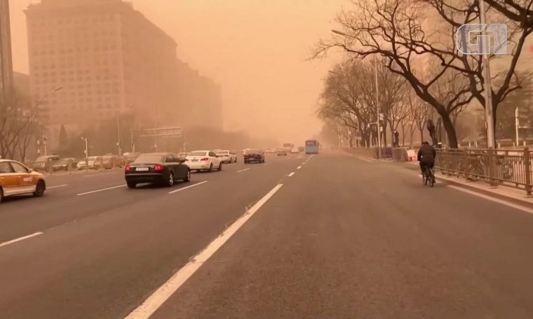 China suffers from the worst sandstorm in a decade;  Photo |  world