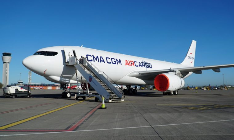 Maritime company CMA CGM confirms its cargo airline base and route