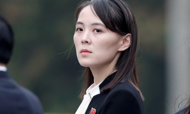 Kim Jong-un's sister accuses US government of 'trying to smell gunpowder' in North Korea