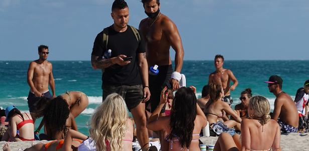 Curfew is imposed on Miami Beach due to tourist congestion - 03/20/2021