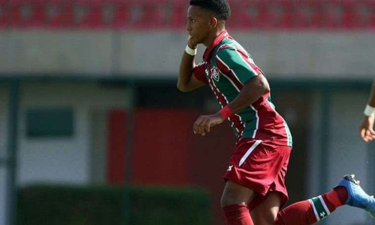 Fluminous striker seen as the 'new Neymar' in the city's sights.  Football