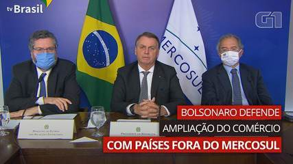 Bolsonaro defends trade expansion with countries outside Mercasur
