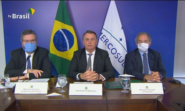 In Mercosur's 30-year meeting, Bolsonaro defended policy of expanding trade with countries outside the block