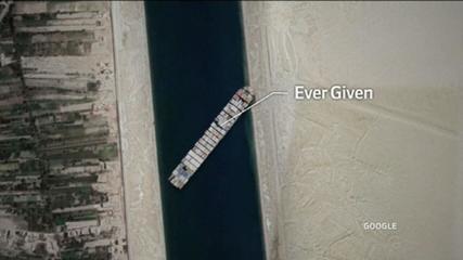 Joe Biden studies how to help release the Suez Canal in Egypt