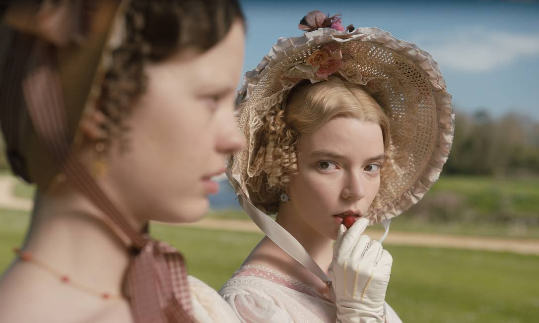 """Anya Taylor-Joy in the role of """"Emma"""", Nominated for this year's Oscars.  Photo: Revealed"""