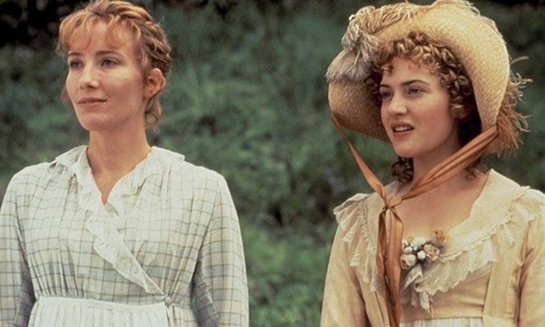 """Emma Thompson and Kate Winslet em """"Cause and sensitivity"""".  Photo: Everett Collection / Disclosure"""