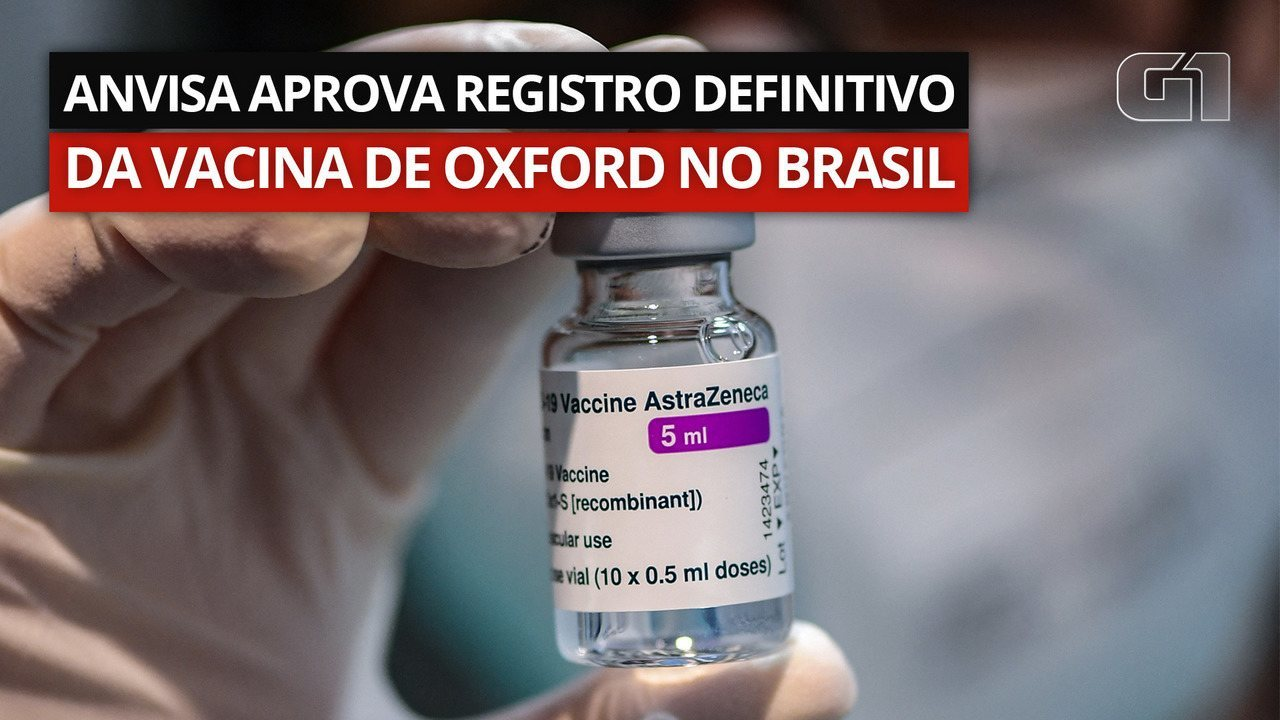 VIDEO: Approved definitive registration of Oxford vaccine in Brazil