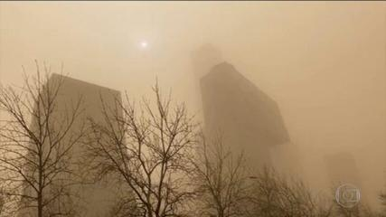 China faces worst sandstorm in 10 years