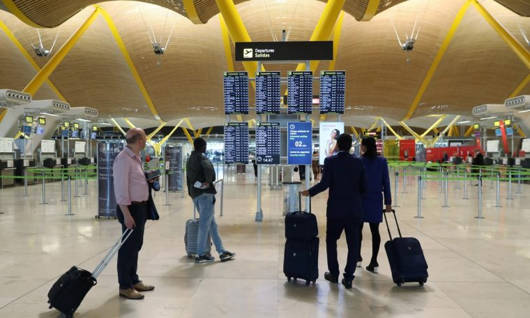 Spain's government has extended restrictions on travelers from Brazil, the United Kingdom and South Africa.