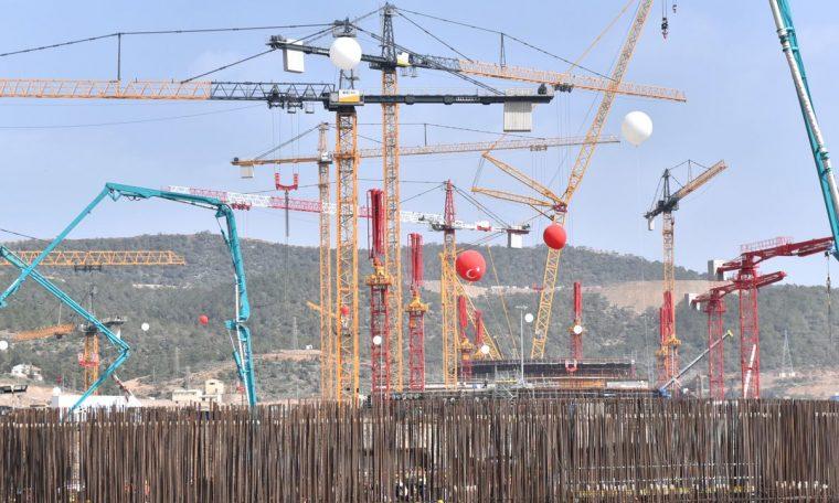 Turkey: Recep Tayyip Erdogan and Vladimir Putin celebrate start of construction of nuclear reactor