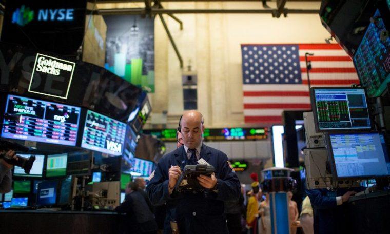 US stocks target finance on weak data ahead of Fed