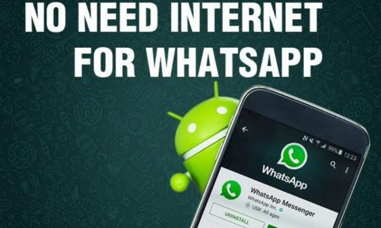 You do not need internet on your phone to use WhatsApp;  new feature