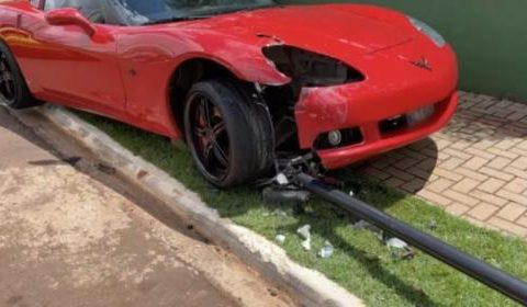 ??, they have to endure, this is how it works ??, says Youtuber, who dropped a sports car onto the pole