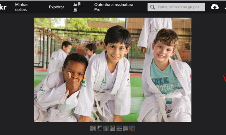Fundesporte partner, Três Lagoas leads the social-sports program Unesco Photography Competition;  Vote to help