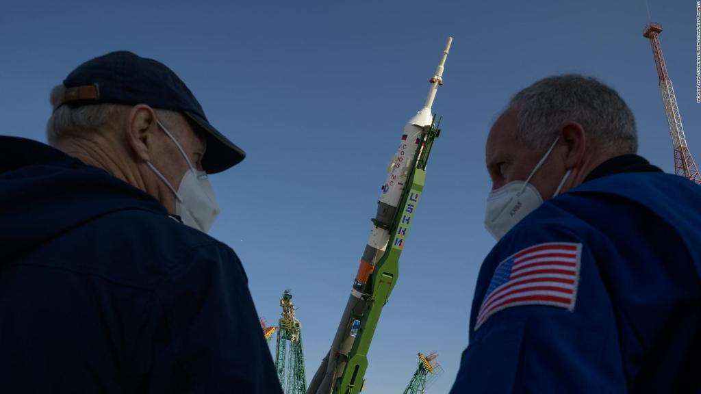 Soyuz 3 is ready to take astronauts into space