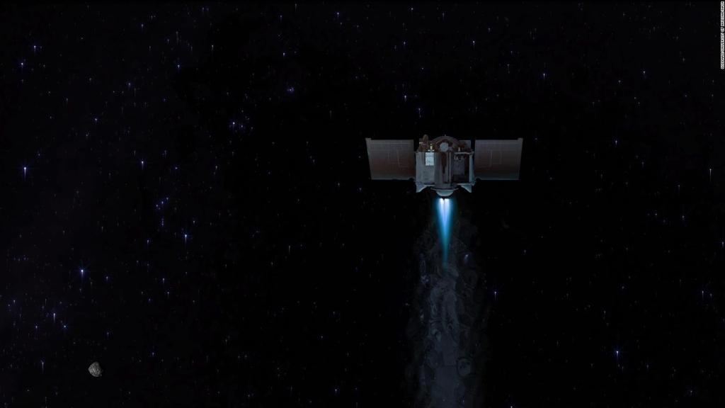 NASA spacecraft took final pictures of asteroid Bennu