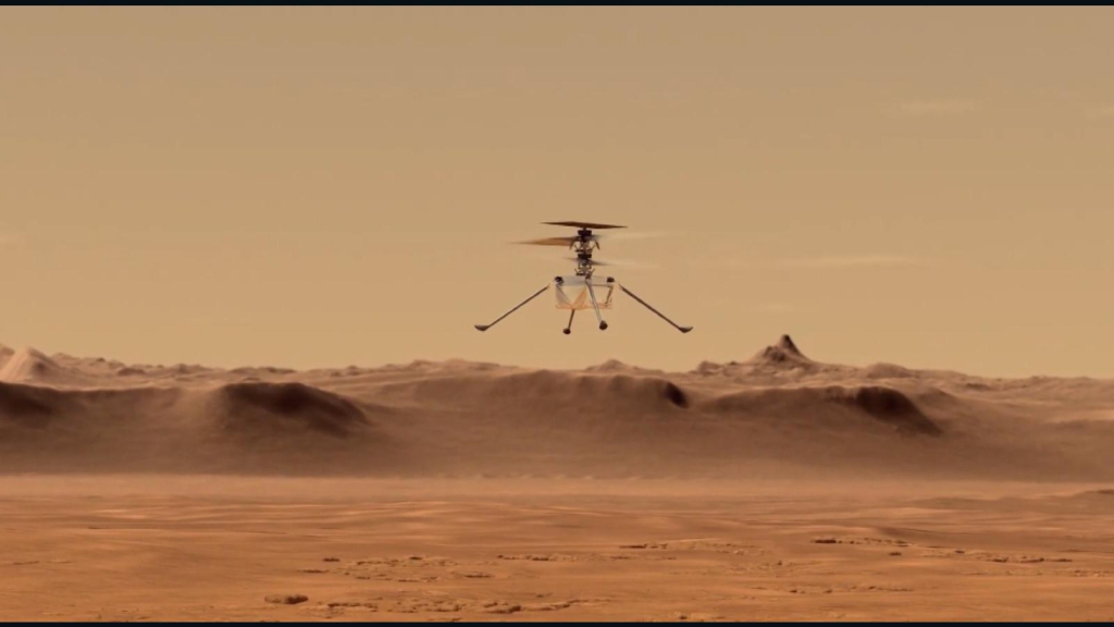 See the first close-up image of Ingenuity on Mars