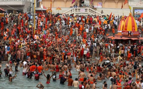 Nearly 5 million people expected in Haridwar for religious celebration