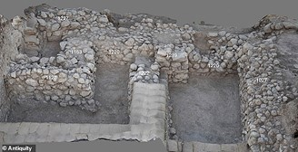 Excavated areas P and S which are still under investigation in Tel Laksh (Source: Antiquities / Reproduction)