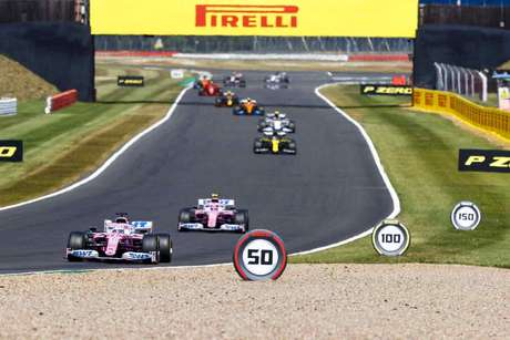 Silverstone hosted two F1 races in 2020