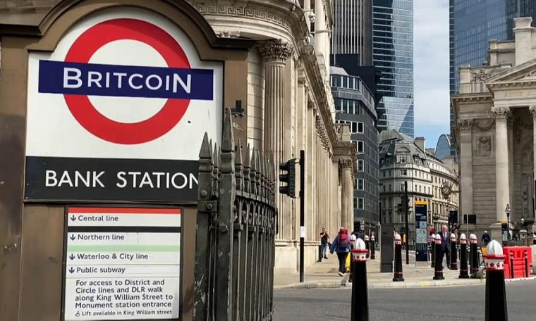 Britain studied the feasibility of 'Britcoin'