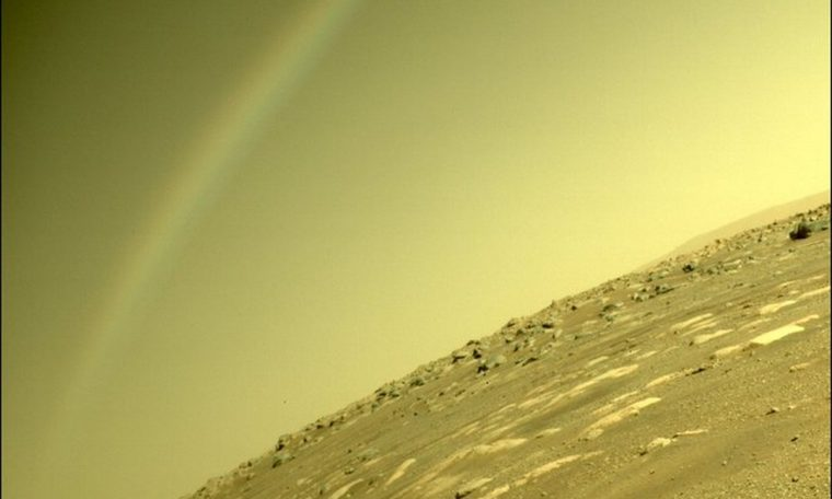 Is rainbow possible on Mars?  NASA strongly impresses curious picture taken by robot |  Science and health