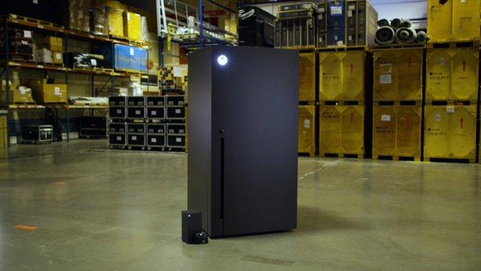 Microsoft has promised to make the Series X mini-fridge - Nerd4.life