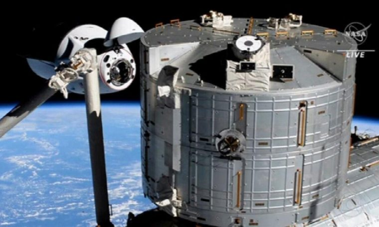 NASA astronaut aboard SpaceX spacecraft arrives at International Space Station National newspaper