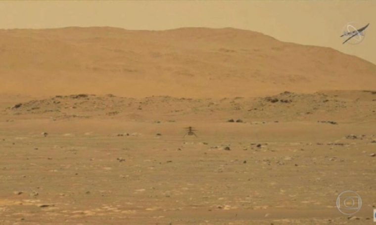 NASA's drone made the first history flight to another planet on Mars.  National newspaper