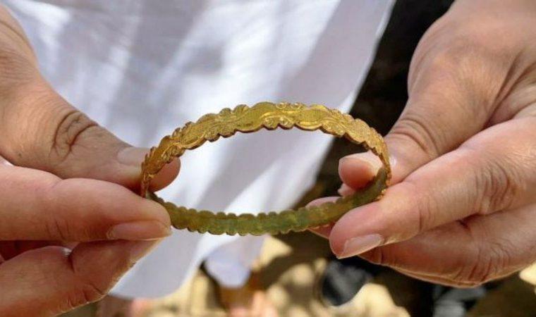 Fotografia do artefato indiano