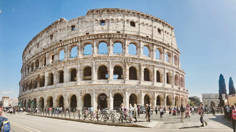 View from outside the Colosseum - Unplash - Unplash