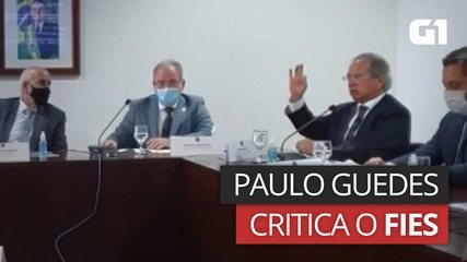 Paulo Guedes criticized Fizz and said that Coolie's son 'scored zero in the test' and got financing
