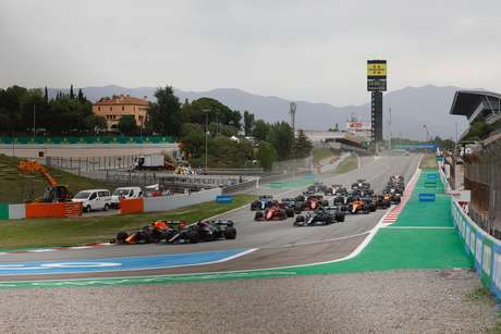 Spanish GP's debut, fourth phase of F1 in 2021