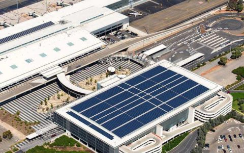 Solar power at airports can power Australia's cities