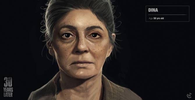 30 years after Dinah the Last of Us 2.