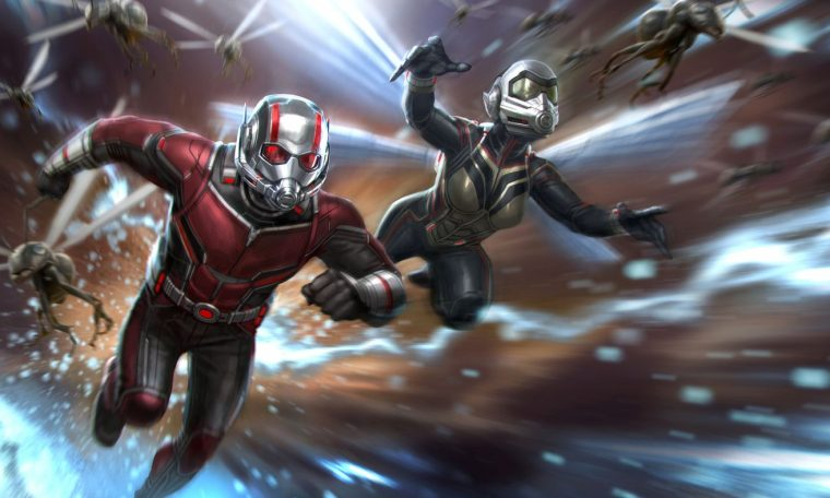Ant-man 3 |  Publish photos on the same set of Board of Directors