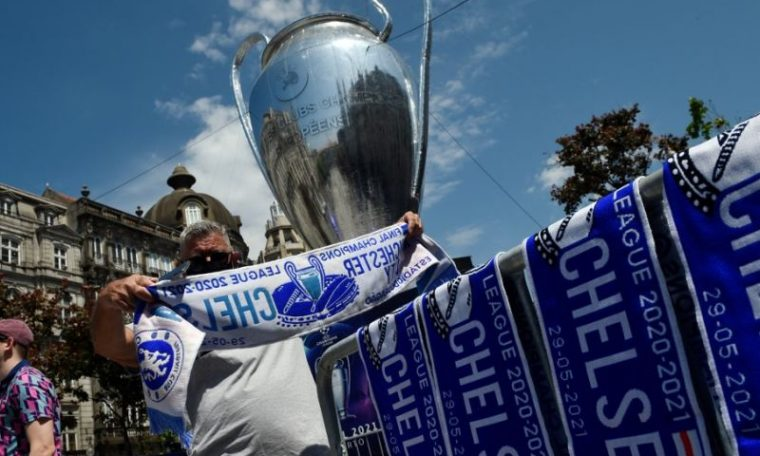 City and Chelsea fielded for Champions League title