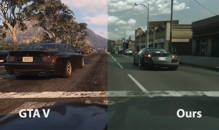 Artificial intelligence makes 'GTA V' graphics very realistic