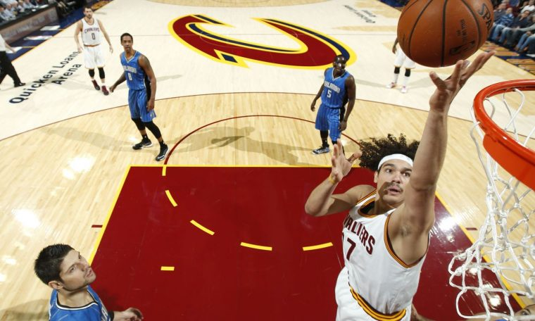 At the age of 38, Anderson Varejao is back in the NBA's Cavaliers