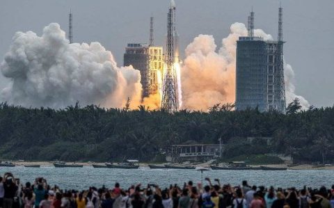 Calculations suggest Chinese rocket may be out of control in Brazil
