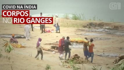 VIDEO: 'Graveyard' becomes Ganges River, buried with floating bodies or buried on the shore