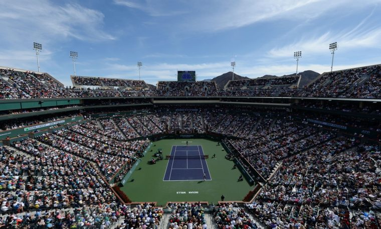 Indian Wells Masters 1000 will be held in October.  Sneakers