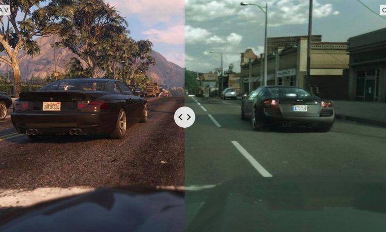 Intel uses artificial intelligence and makes 'GTA V' more realistic