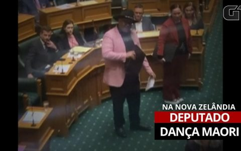 Maori MPs expelled from Parliament in New Zealand after Hakka Dance.  world