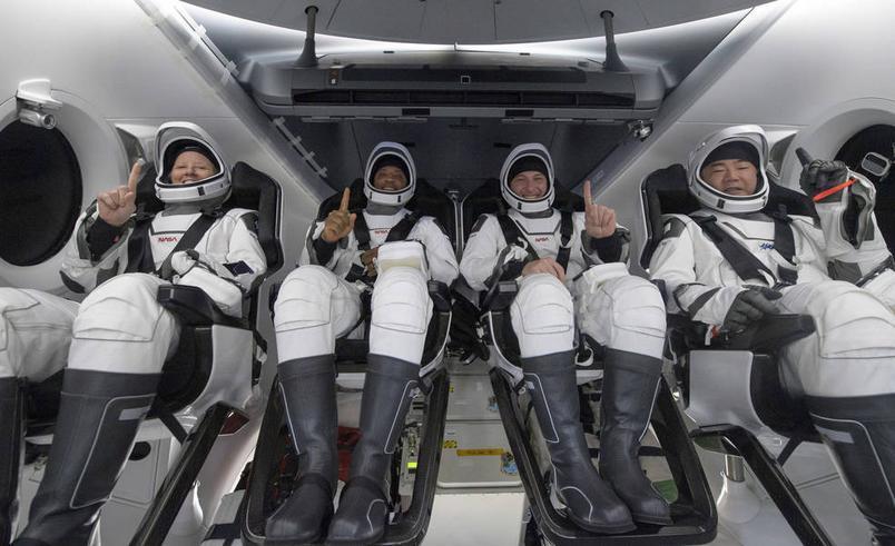 NASA astronauts returned to Earth